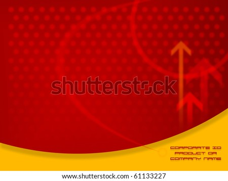 Red Abstract Design artwork,  Design  template ready for web page design, brochures, books, banners, stationary or Press Kits