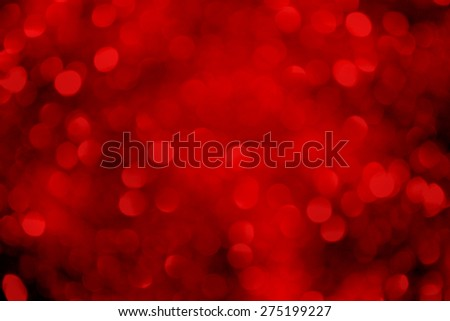 Red Abstract Glitter Background