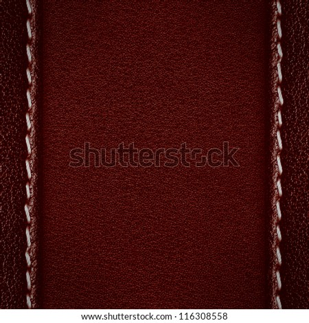 red abstract leather background, rough pattern texture with margins