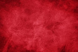 Red abstract surface with smoke pattern. Texture and background