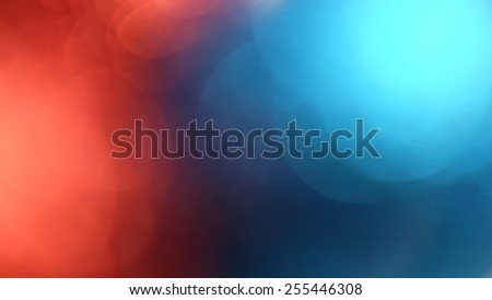 Red and blue out of focus abstract background