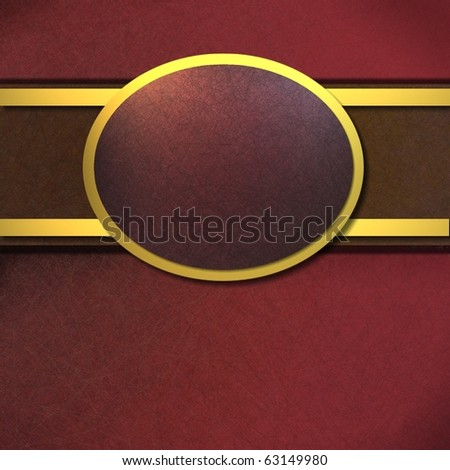 red and gold background with copy space for text