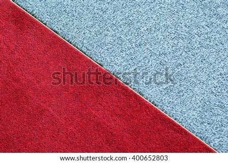Red and green carpet Stock fotó ©
