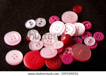 Red and Pink Buttons