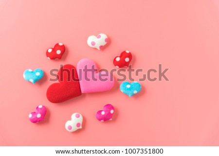 red and pink heart lover #1007351800
