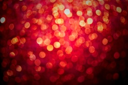 red and silver Sparkling Lights Festive background with texture.