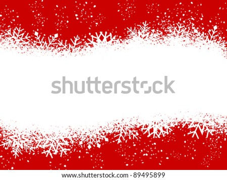 Red And White Christmas Card Stock Photo 89495899 : Shutterstock