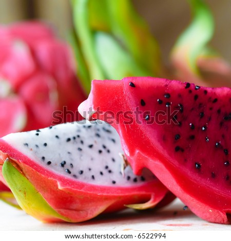 Red and White Dragonfruit
