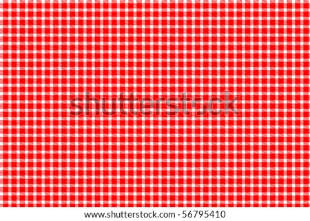 Red and white gingham - tablecloth texture