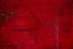 Red and white grunge ugly dirty rough vintage paint texture wall surface background texture
