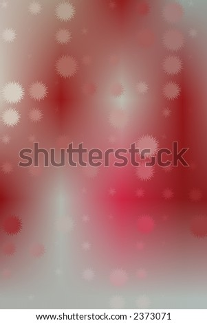 red and white shapes and blurs abstract design for webpage or other graphic or artistic piece.