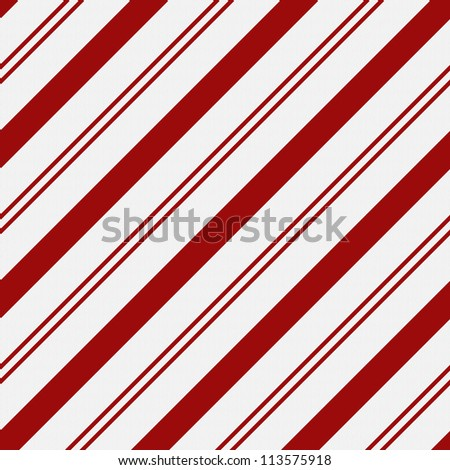 Red and White Striped Fabric Background that is seamless and repeats
