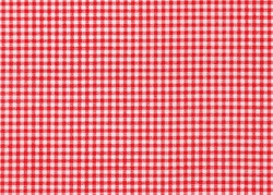 Red and white tablecloth picnic texture background