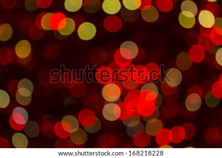 red and yellov light spots on a black background  #168218228