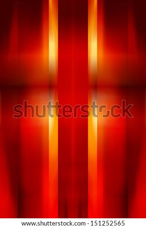 Red and yellow abstract blur background