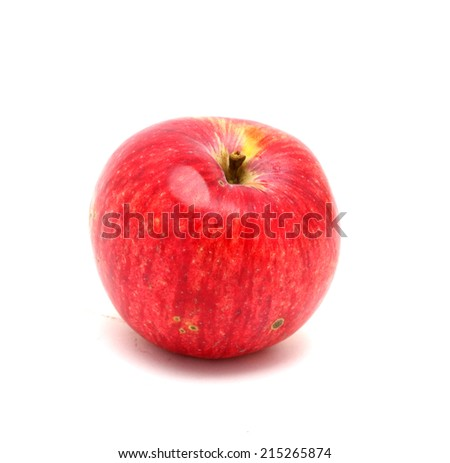 Red apple isolated on white #215265874