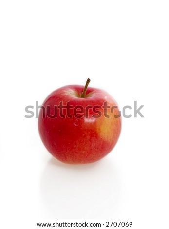 red apple isolated on white #2707069