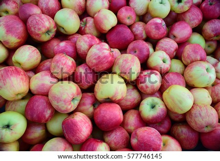 red apples green apples  #577746145