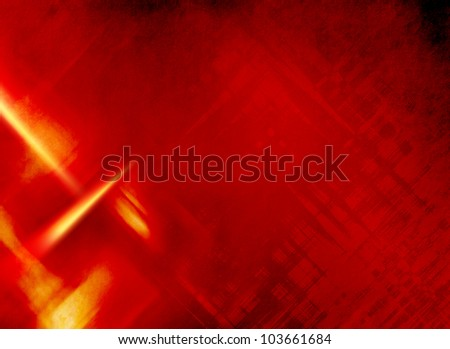 Red background abstract