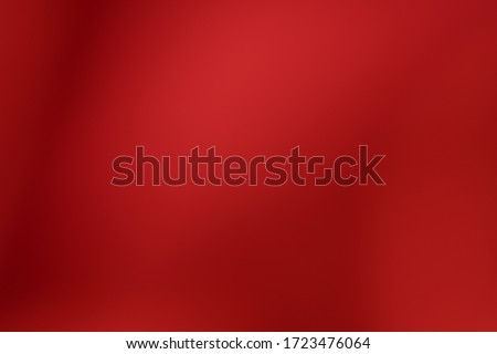 Red background abstract pattern texture defocused and Falling stars. Winter Card or invitation Foto stock ©