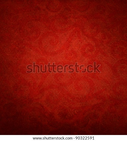 red background for valentines day - Shutterstock ID 90322591