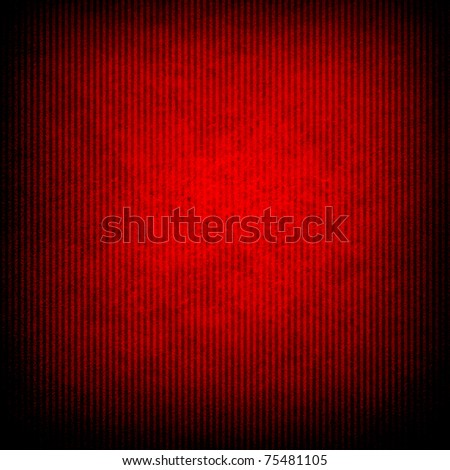 red background with stripe