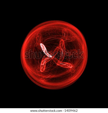 Stock photo red bacteria cell close up background 1409462