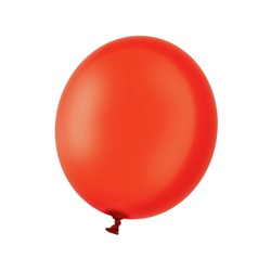red ball isolated