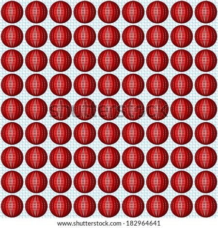 Red balls pattern