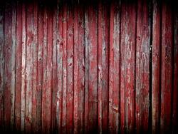 Red barn door desktop background