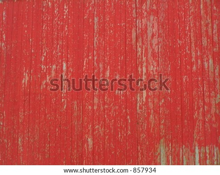 ROTES STALL-ABSTELLGLEIS