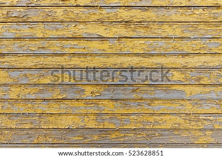 Red Barn Wooden Wall Planking Horizontal Texture. Old Retro Wood Slats Rustic Shabby Empty Background. Paint Peeled Brown Weathered Isolated Surface. Natural Wood Board Panel Grungy Facade Wallpaper