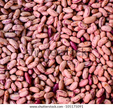 Red beans background