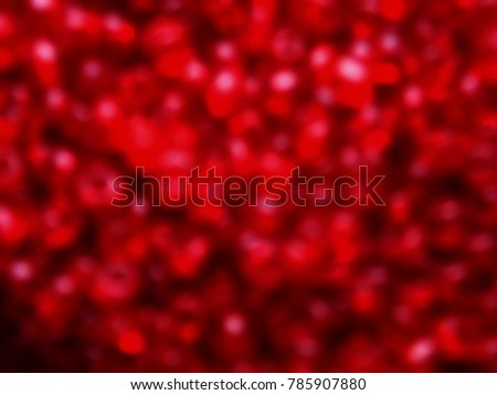 Red blur abstract background for St. Valentine's day