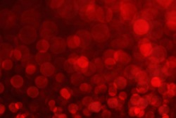 Red blur bokeh light background