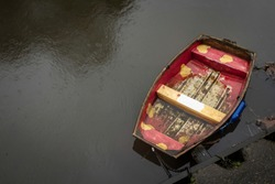 Red Boat on the River