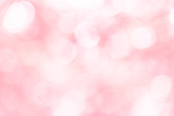 Red bokeh texture background