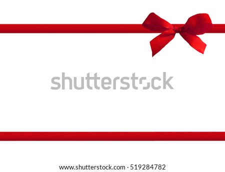 red bow #519284782
