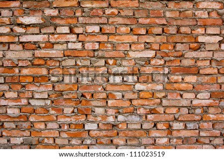 Red brick background textured #111023519