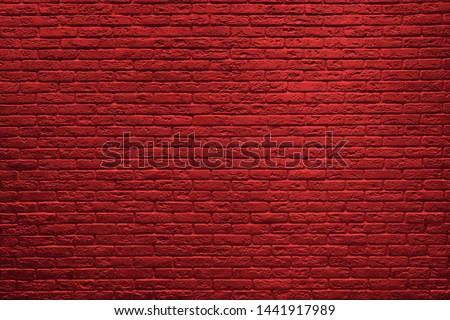 Red brick wall background. Brick wall texture.