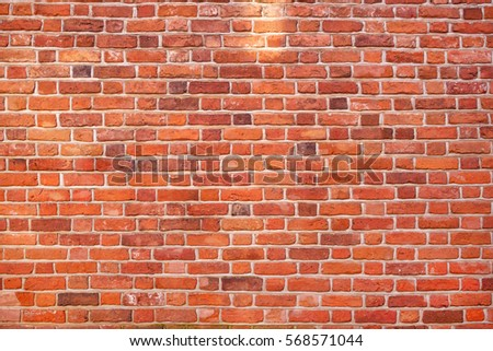 Red brick wall background texture #568571044