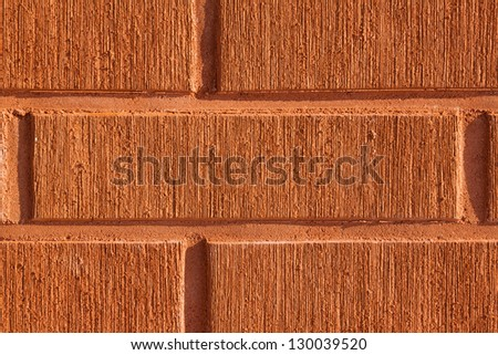 red brick wall background texture, closeup shot