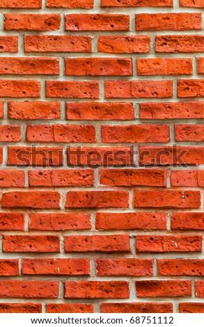 Red brick wall 100% seamless