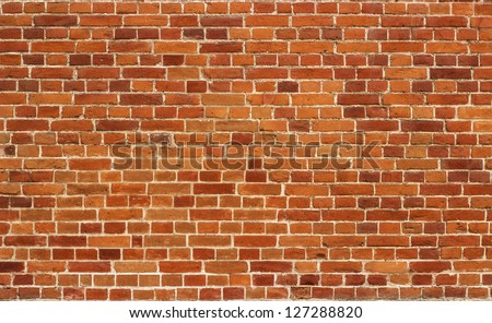 Red brick wall texture background #127288820
