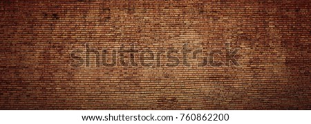 red brick wall texture grunge background #760862200