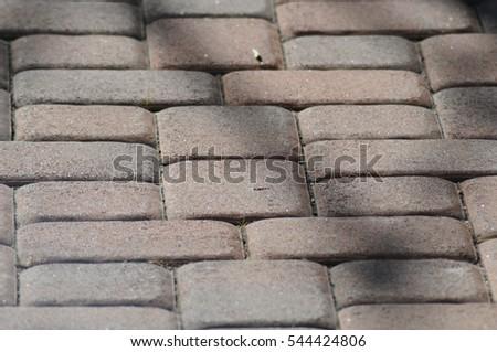 Red bricks #544424806