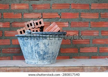 Red bricks material of construction #280817540