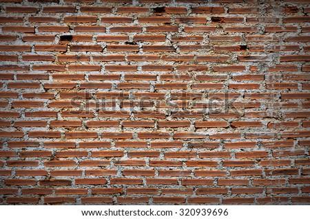 red, brown brickwall cement background, vintage  red  brown brickwall cement background