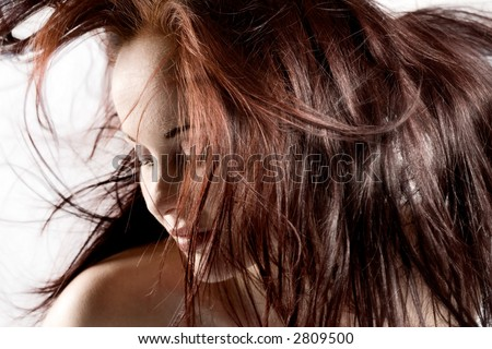 reddish brown hair. girlfriend Red Brown Hair