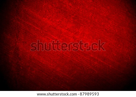 red brushed background